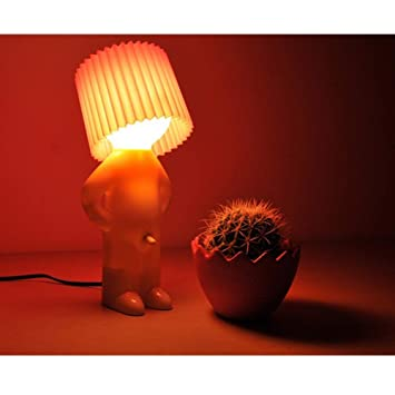Amazon.com: XQDSP Lámpara de mesa LED de alta luz, acrílica ...