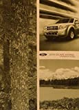 2010 Ford Escape Hybrid Owner's Manual Guide Book