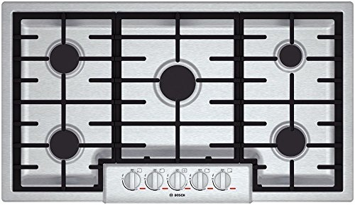 Bosch NGMP655UC: 36' Gas Cooktop Benchmark Series - Stainless Steel