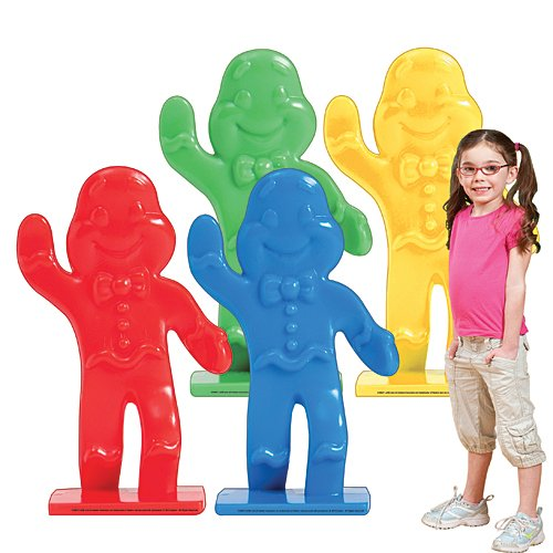 Candy Land Gingerbread Piece Cutouts Standup Photo Booth Prop Background Backdrop Party Decoration Decor Scene Setter Cardboard Cutout
