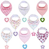 Baby Bandana Drool Bibs Unisex for Teething and Drooling - Super Soft Absorbent