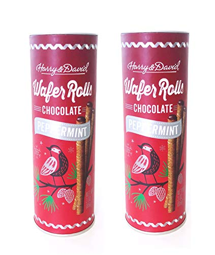 - Harry & David Wafer Rolls Limited Edition 10 oz, 2 Pack (Chocolate Peppermint)