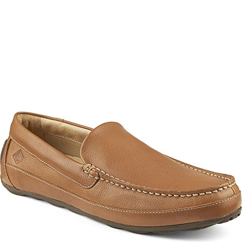 Sperry Top-Sider Men's Hampden Venetian Slip-On Loafer, Sahara, 10.5 M US