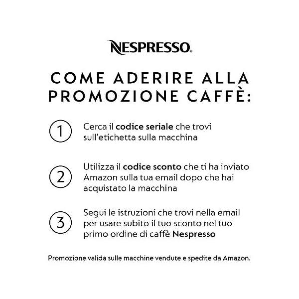 De'Longhi EN 124.S Nespresso Pixie EN124.S Macchina per caffè Espresso, 1260 W, Plastica, Argento, 0.7 Litri, Metallo 7