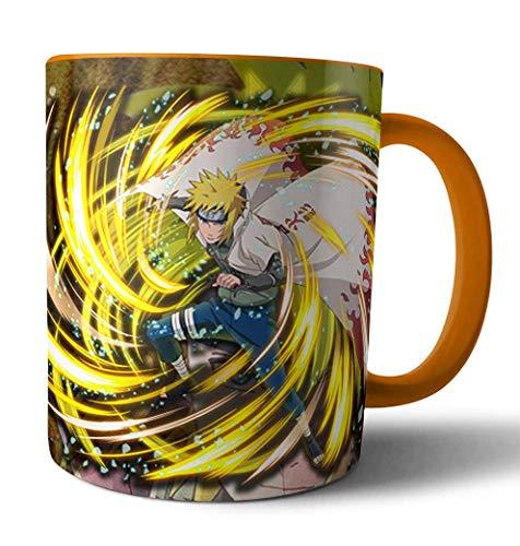 Caneca de porcelana Naruto Minato Namikaze Hokage