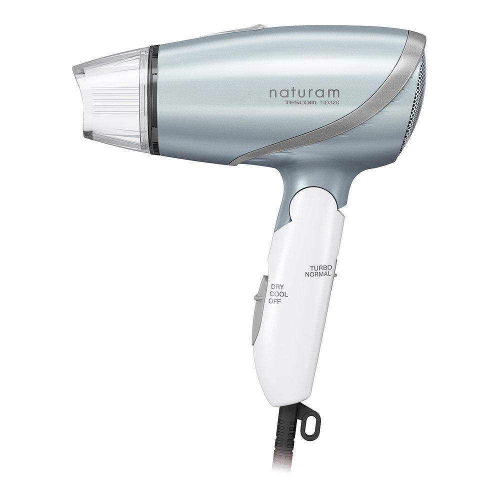 TESCOM naturam negative ion hair dryer Silver TID320-S Tescom (TESCOM)
