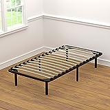 Handy Living Wood Slat Bed Frame Twin