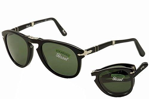 f2b1a9d6a9 Persol Sunglasses 714 95 58 Black Green Polarized Folding Steve McQueen  54mm  PERSOL  Amazon.ca  Shoes   Handbags