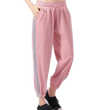 Juntful Mujer Deporte Pantalones Secado Rápido Entrenamiento ...