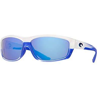 daf99f68a9 Image Unavailable. Image not available for. Color  Costa BK67BMGLP Saltbreak  Matte Crystal Blue Trim Frame Blue 400G Polarized Lens Sunglasses NEW