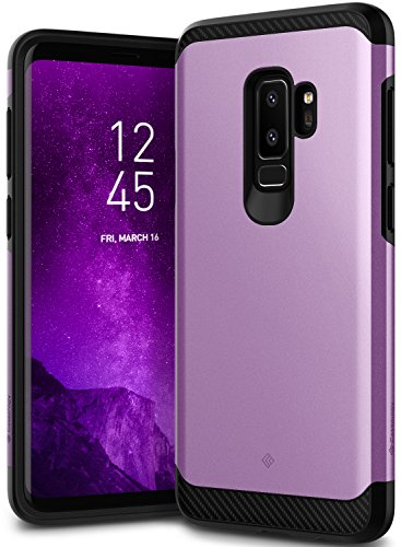 Galaxy S9 Plus Case, Caseology [Legion Series] Slim Heavy Duty Protection Dual Layer Armor Cover for Samsung Galaxy S9 Plus (2018) - Lilac Purple (Purple Rubber Solid)
