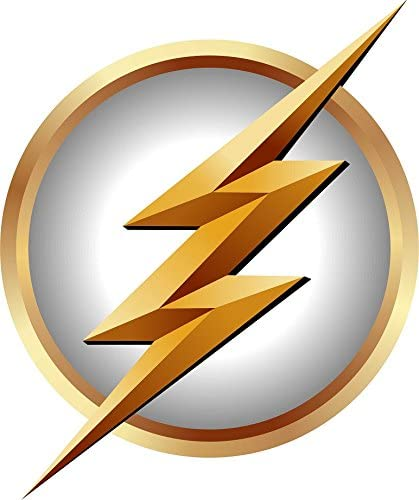 Amazon Com The Flash Symbol In White Logo Gift Repositionable Wall Graphic Decal Sticker Cw Tv Superhero Crime Fighter Kitchen Dining I have seen a lot of companies using this symbol in a simple or complex way. the flash symbol in white logo gift repositionable wall graphic decal sticker cw tv superhero crime fighter