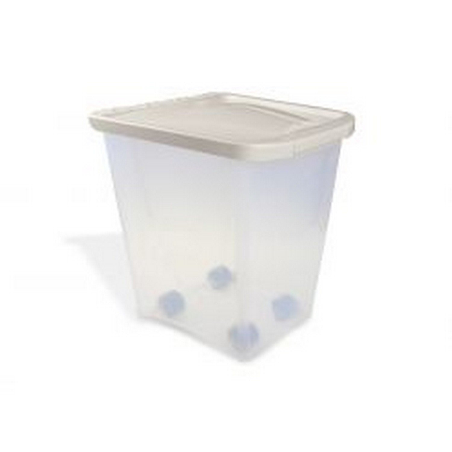 KENNELPAK Van Ness Pet Food Container (25 Lbs) (Clear)