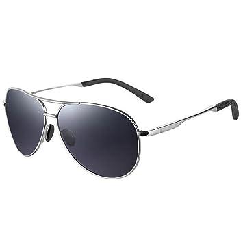 SHULING Gafas De Sol Anodizado Bronce Gafas De Sol Polarizadas Gafas Gafas De Sol Bronceado Hombres