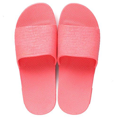 spessa DogHaccd insalata outdoor pantofole Anguria maschile rosso antiscivolo di home coperta estiva pantofole bagno femmina fondo Moda giovane UrpPZwqU