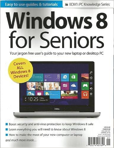 Bdm's Pc Knowledge Series: Windows 8 for Seniors (Volume 5): Graham