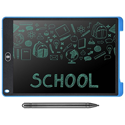 Dennov 12 Inch Digital LCD Writing Drawing Tablet Pad Handwriting Drawing Sketching Graffiti Scribble Doodle Board e-Writer 2018 Version
