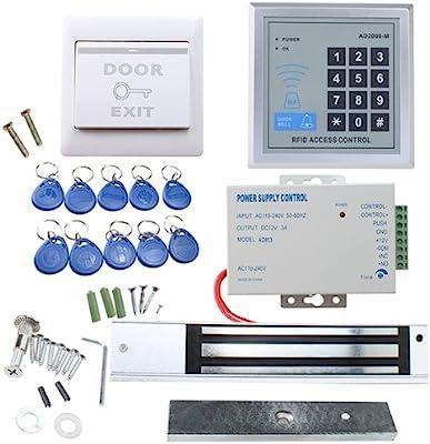Amazon com: IMAGE Full Complete RFID Door Access Control system Kit