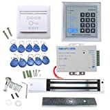 RFID Door Access Control System Kit, AGPtEK Home Security System With...