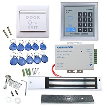 Rfid Door Access Control System Kit Agptek Home Security System
