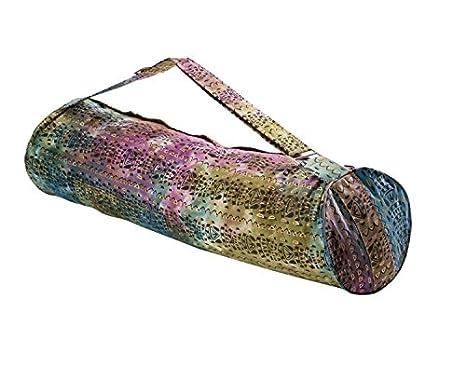 Buy Hugger Mugger Batik Golden Tribe Yoga Mat Bag Online at Low Prices in  India - Amazon.in 748f082dd79cc