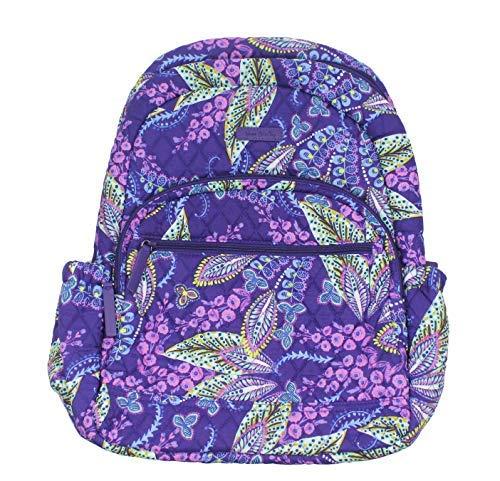 Vera Bradley Essential Backpack Batik Leaves by Vera Bradley