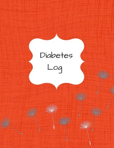 Diabetes Log: Red Diabetes Journal/Notebook.:Keep Record of your Blood Sugar (Health) (Volume 2)