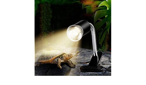 Haolv Lámpara de Calor, lámpara de Pinza Flexible giratoria ...
