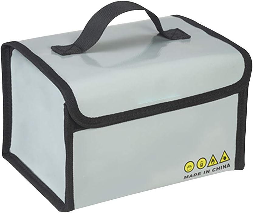 Fosheng Storage Guard Bag for DJI Mavic Mini//Air//Pro Fireproof Explosion-Proof Batteries Case