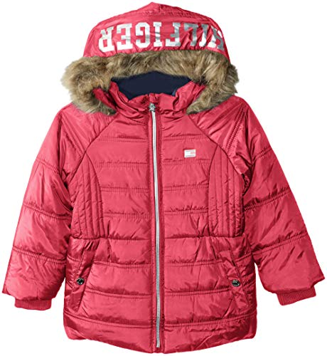 (Tommy Hilfiger Girls' Toddler Quilted Puffer Jacket, Lollipop Pink, 4T)