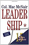 Leadership 15 secrets Revealed, Mac McNair, 1466305126