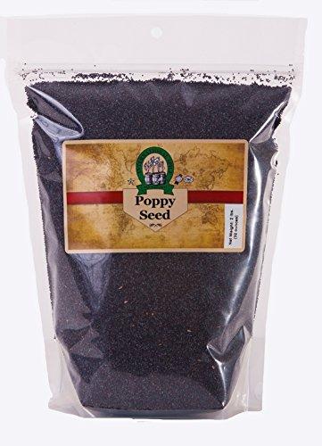 Whole Black Poppy Seeds 2 Lb- International ()