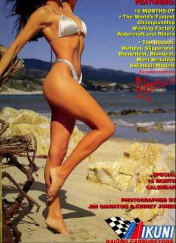 Hot Waves Racing Watercraft 1996 Ujena Swimsuit Calendar