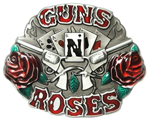 GUNS'N ROSES MUSIC ROCK 'N ROLL BAND GROUP BELT (Guns N Roses Belt Buckle)