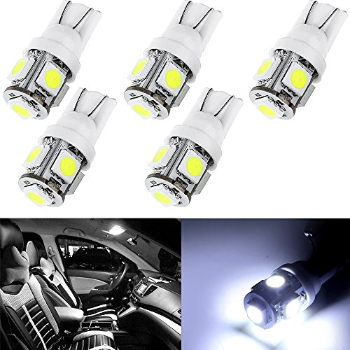 cciyu for 1997-2004 Buick Regal LED Interior Lights Bulb Replacement Dome Map Trunk/Cargo Area Step/Courtesy/Door Glove Box License Plate Light (white)