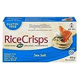 Superslim Rice Crisps, Sea Salt, (Pack of 12), 100g