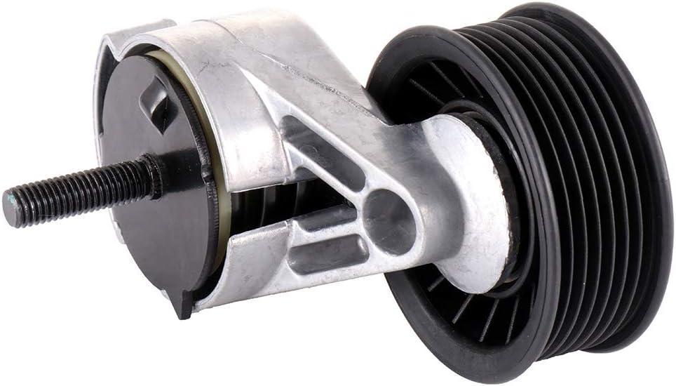 ROADFAR Belt Tensioner Pulley Assembly Compatible for 1992-1994 Dodge B150 1995-1998 Dodge B1500 1992-1994 Dodge B250 1995-1998 Dodge B2500 1992-1994 Dodge B350 1995-1998 Dodge B3500