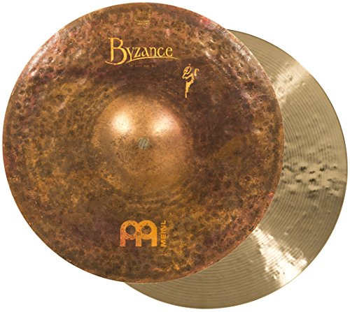 Meinl Cymbals B14SAH Byzance 14-Inch Vintage Sand Hi Hat (VIDEO) by Meinl Cymbals