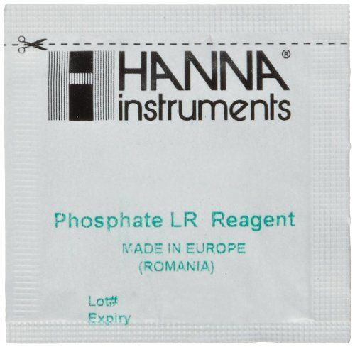 Hanna Instruments HI-713-25 Low Range Phosphate Reagent for HI-713 Checker, Pack of 25 by HANNA ()