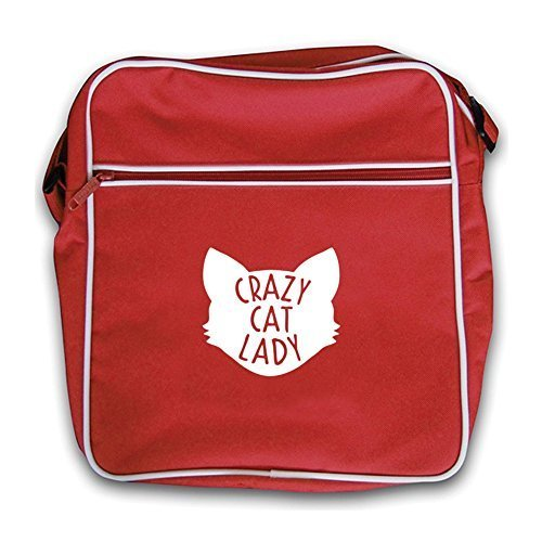 Dressdown Crazy Flight Lady Retro Bag Cat Red qUnAqWH6