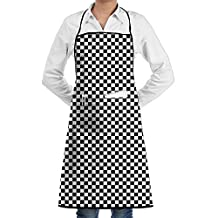 Lattice Cooking Apron Creative Kitchen Apron Adjustable Adult Customize