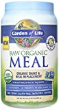 RAW Meal Organic Shake, Potassium 70 mg & Meal Replacement ( 33.5 oz ) Garden of Life Raw Organic Meal Vanilla