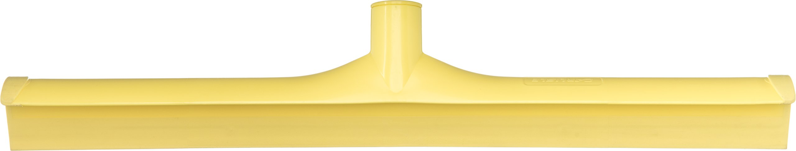 Carlisle 3656704 Solid One-Piece Foam Rubber Head Floor Squeegee, 20'' Length, Yellow (Case of 6)