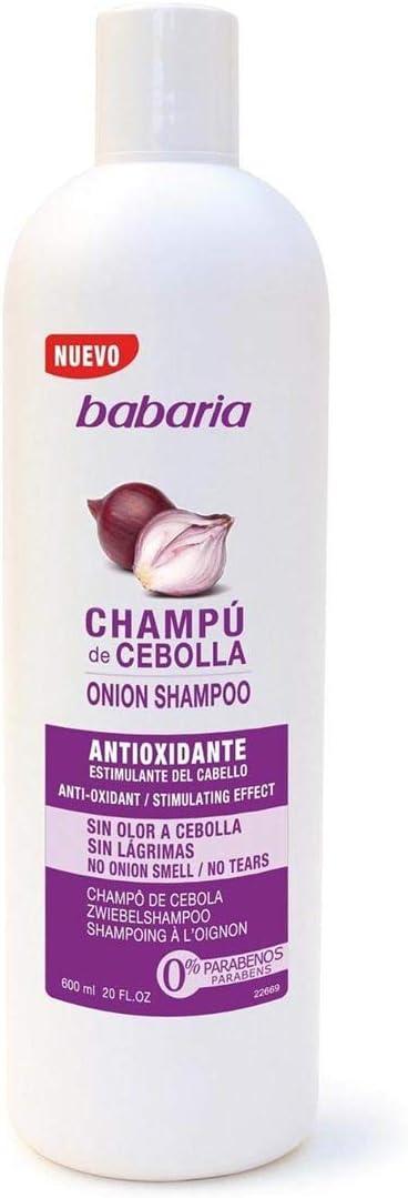 Babaria Cebolla Antioxidante - Champú, 600 ml