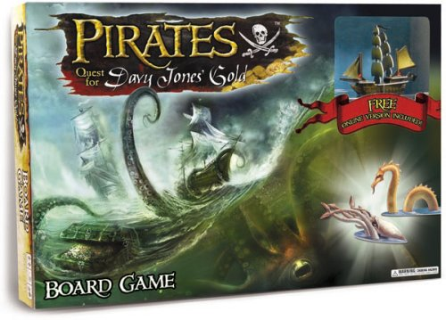 Pirates Quest For Davy Jones' Gold