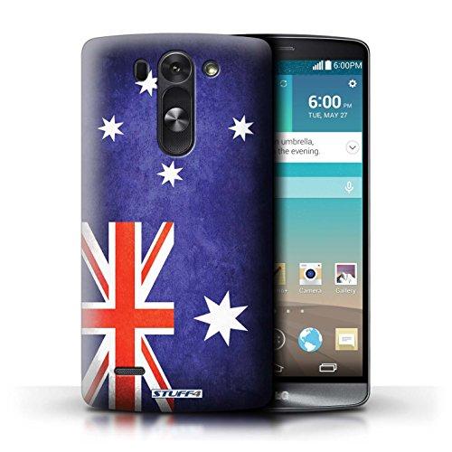 Kobalt® Imprimé Etui / Coque pour LG G3 S (Mini)/D722 / Australie/australien conception / Série Drapeau