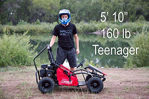 Coleman Powersports 98cc/3.0HP CK100-S Go Kart by Coleman Powersports (Image #6)