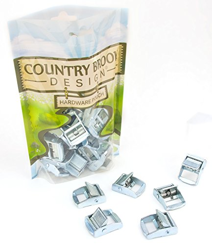 Press Buckle - 10 - Country Brook Design 3/4 Inch Press Cam Buckles