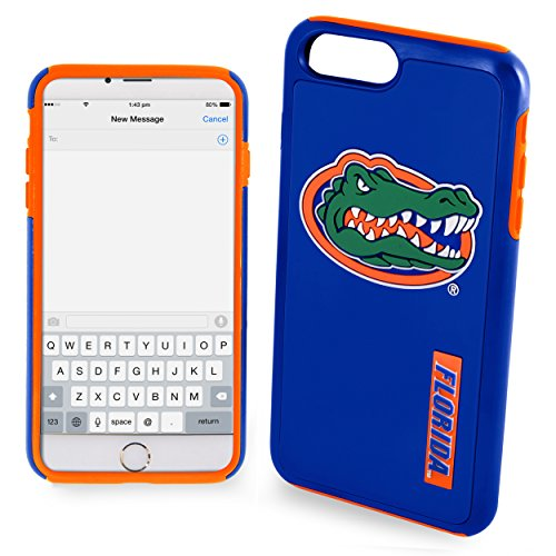 Florida Gators Impact TPU 2-Piece Dual Hybrid iPhone 8 PLUS / iPhone 7 PLUS / iPhone 6 PLUS / 6s PLUS - 5.5