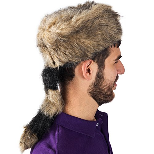 db0065f5025 Coonskin Cap - Daniel Boone Hat Raccoon Tail Hats Novelty Hat by Funny  Party Hats